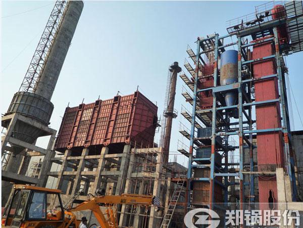印度35吨外循环流化床电站锅炉项目