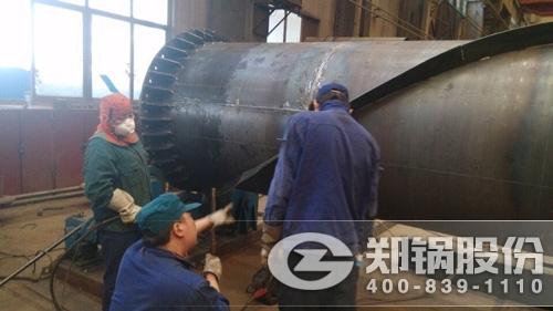 用汗水直面挑战——贺郑锅分厂E1235产品顺利完工!