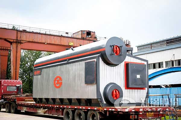 郑锅股份出口伊朗2*20吨燃气锅炉顺利发货