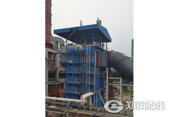 越南每小时50吨碳素回转窑余热发电项目图