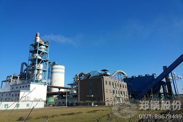 河北唐山水泥窑低温余热发电锅炉项目图