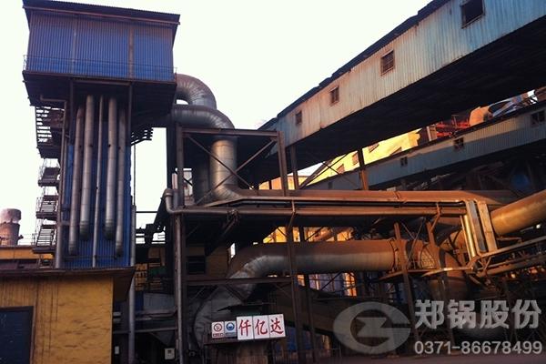 北京钢铁行业4T/H和9吨-10吨每小时余热发电锅炉项目图
