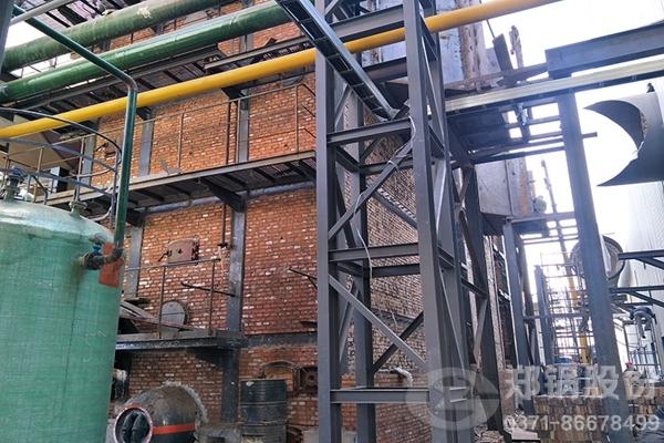 山东天阳3台15吨/小时碳素窑余热蒸汽锅炉项目图