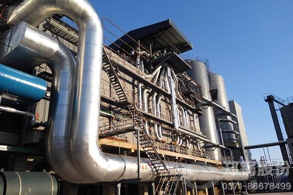 安徽滁州金禾化工75t/h隧道式三废混燃余热炉项目图