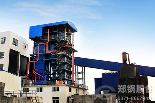 山东食品厂50吨循环流化床蒸汽锅炉,压力5.82兆帕