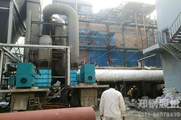 余热锅炉中温中压和中温次高压发电量和发电效率对比
