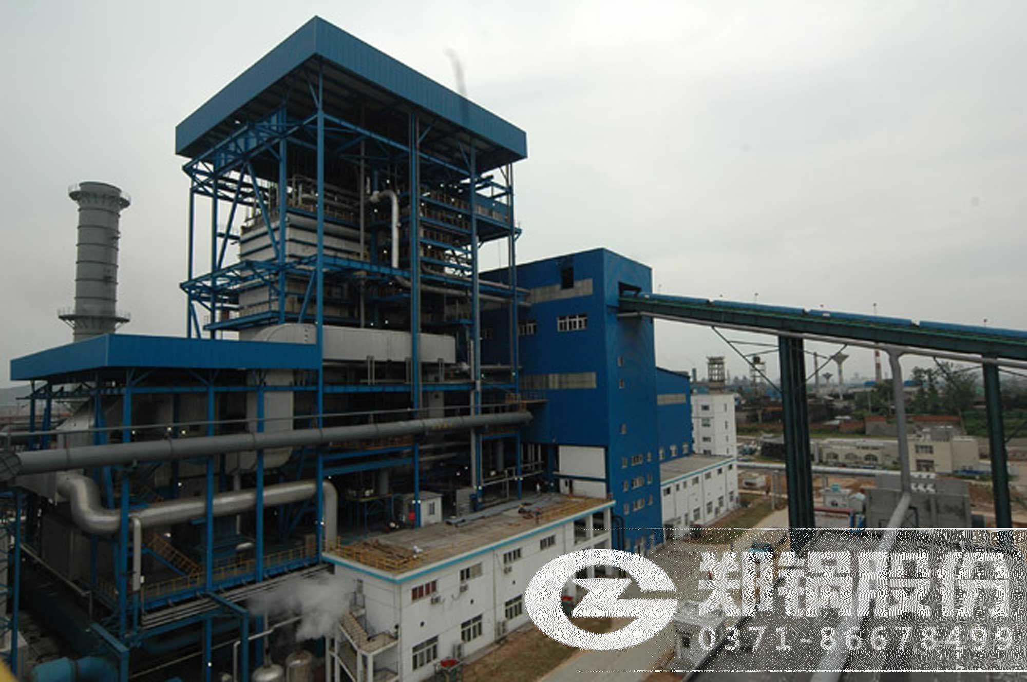 湖北东阳光30吨废液锅炉项目