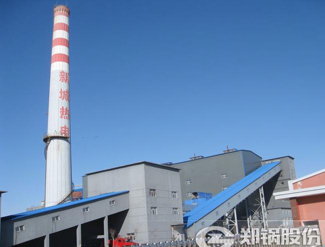 内蒙古赤峰130吨循环流化床锅炉项目